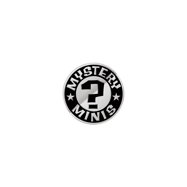 Mystery Minis zwart zilver