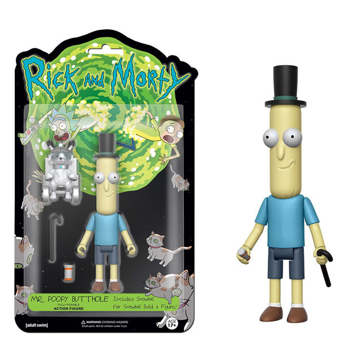 Poopy Butthole Action Figure