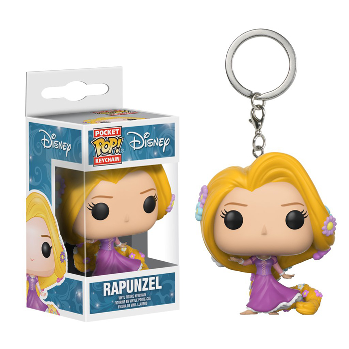 Rapunzel Pocket Pop Keychain