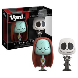 Sally and Jack Skellington Vynl