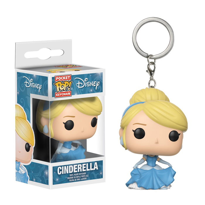 Cinderella Pocket Pop Keychain