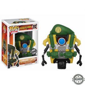 Commando Claptrap Funko Pop