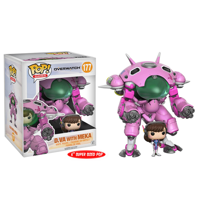 D Va and Meka Funko Pop