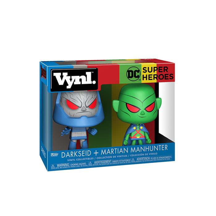 Darkseid and Martian Vynl