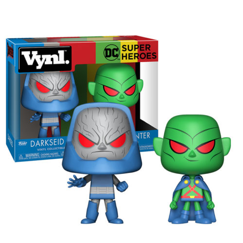 Darkseid and Martian Vynl