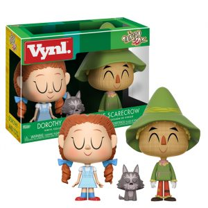 Dorothy and Scarecrown Vynl 2 pack