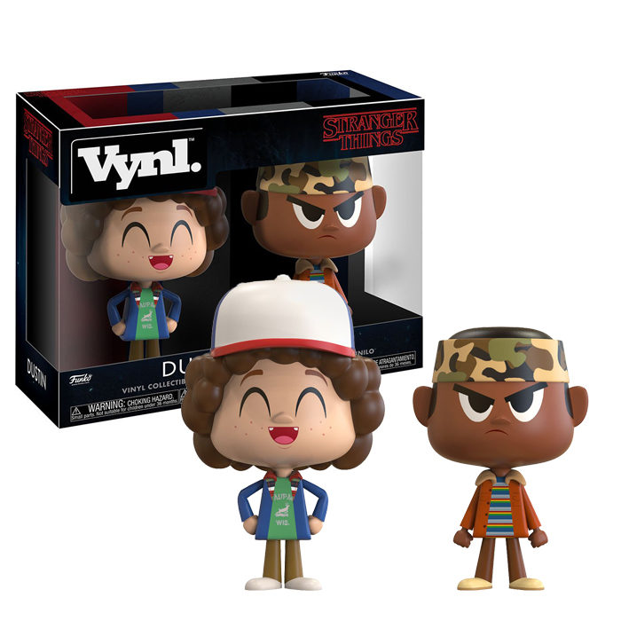 Dustin and Lucas Vynl 2 pack