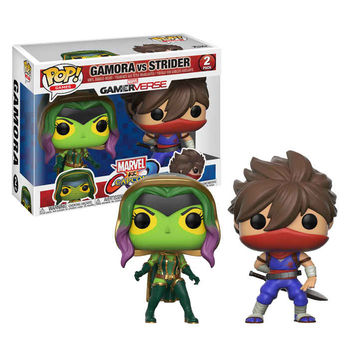 Gamora vs Strider Funko Pop 2pack