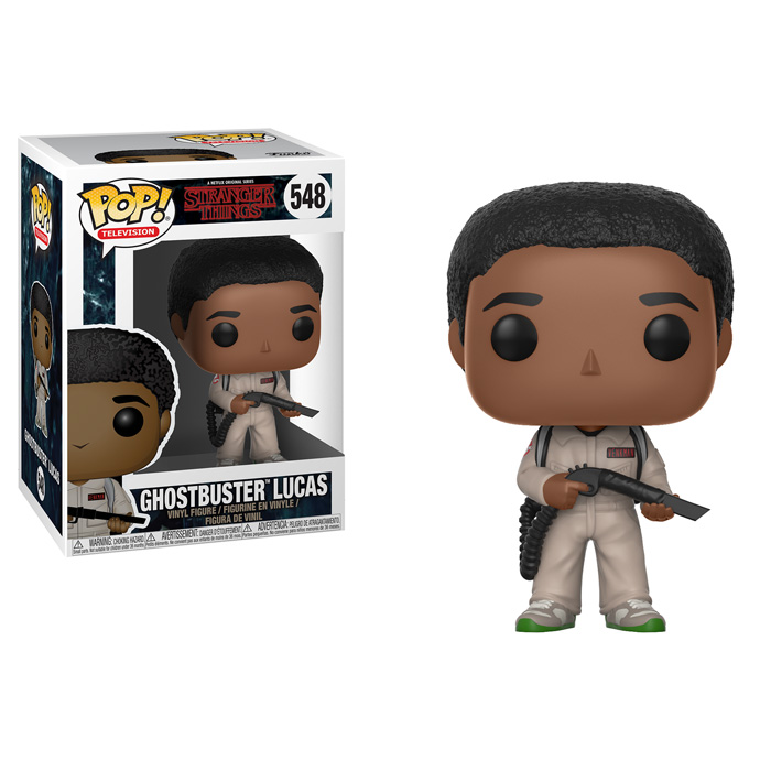 Ghostbuster Lucas Funko Pop
