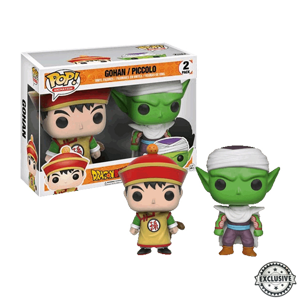 Gohan and Piccolo 2pack Funko Pop