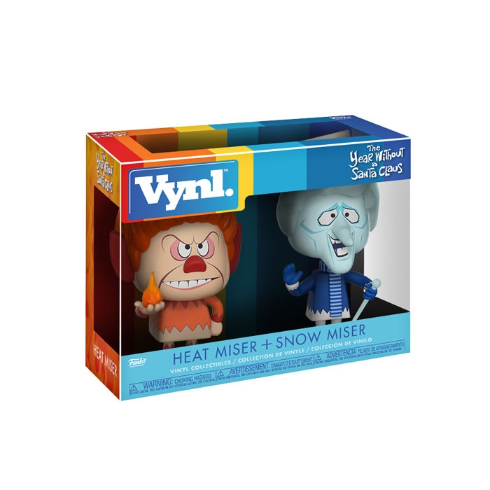 Heat Miser and Snow Miser Vynl 2 pack