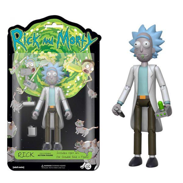 Rick Action Figure