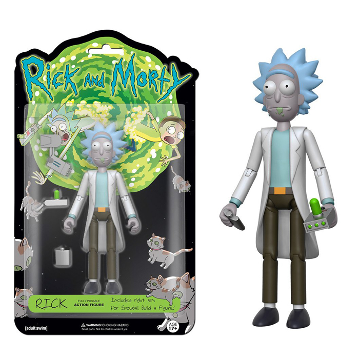 Rick Action Figure