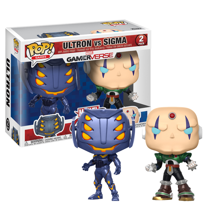 Ultron vs Sigma Funko Pop