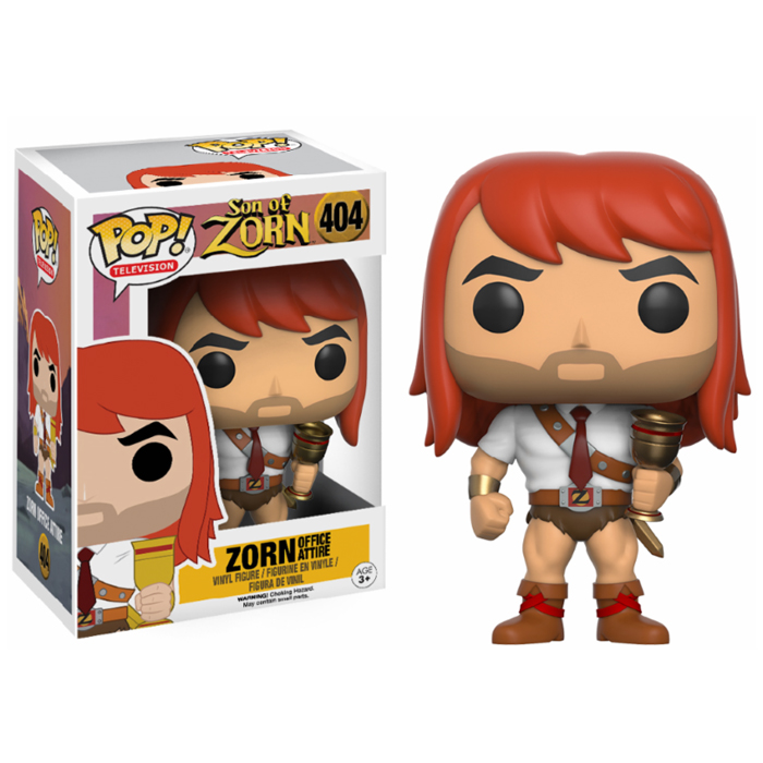 Zorn Business Exclusive Funko Pop