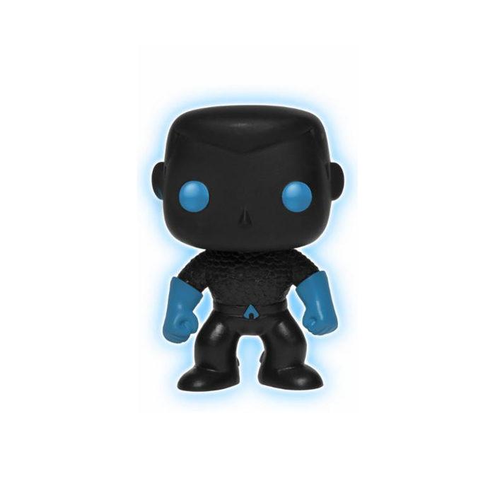 Aquaman Silhoutte GITD Exclusive Funko Pop