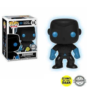 Aquaman Silhoutte GITD Exclusive Funko Pop