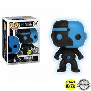 Cyborg Silhoutte GITD Funko Pop