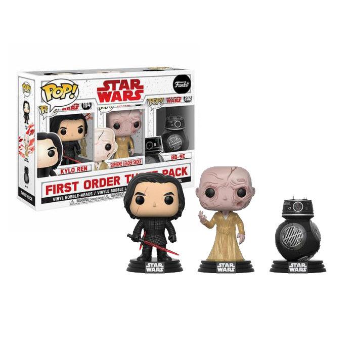 First Order Three Pack Star Wars Funko Pop