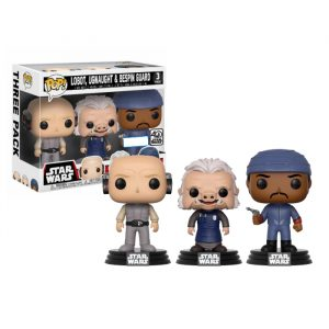 Lobot, Ugnaught en Bespin Guard 3pack Funko Pop