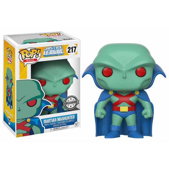 Martian Manhunter Exclusive Funko Pop
