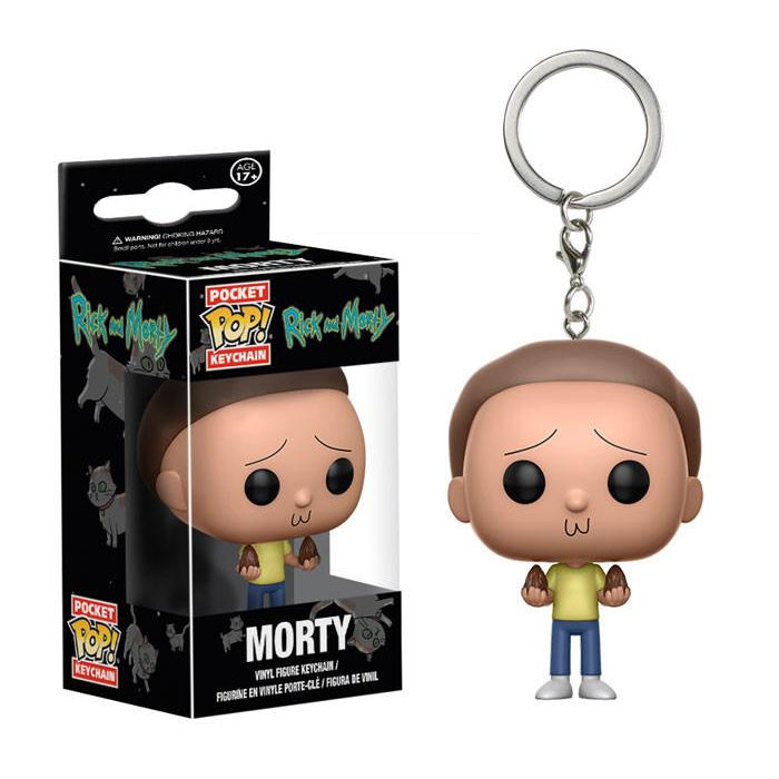 Morty Pocket Pop Keychain