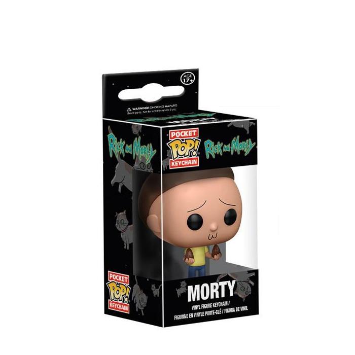 Morty Pocket Pop Keychain