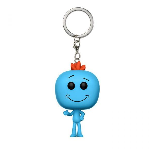 Mr Meeseeks Pocket Pop Keychain