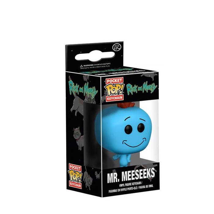 Mr Meeseeks Pocket Pop Keychain