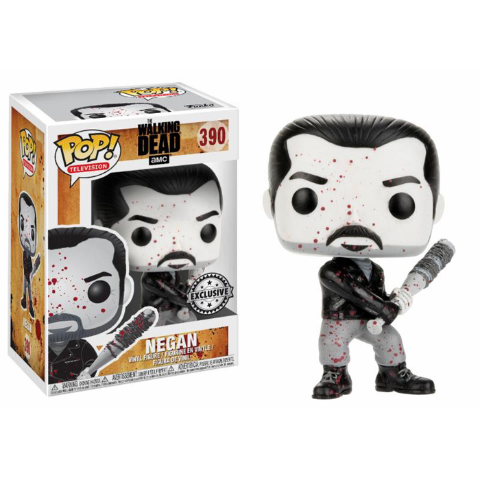 Negan Black and White Exclusive Funko Pop