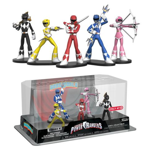 HeroWorld Power Rangers 5-pack