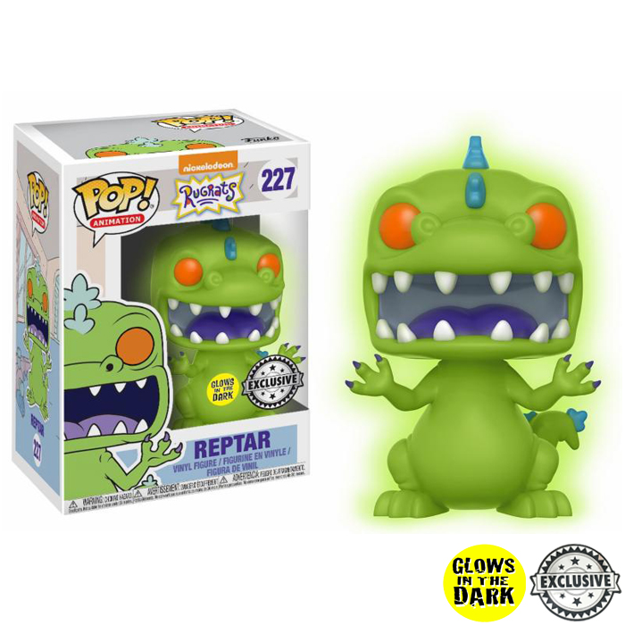 Reptar GITD Exclusive Funko Pop