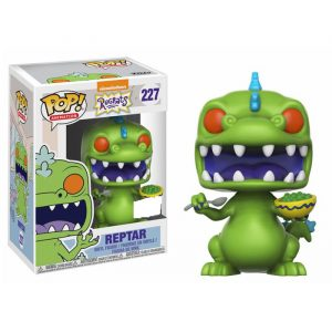 Reptar with Cereal Box Exclusive Funko Pop