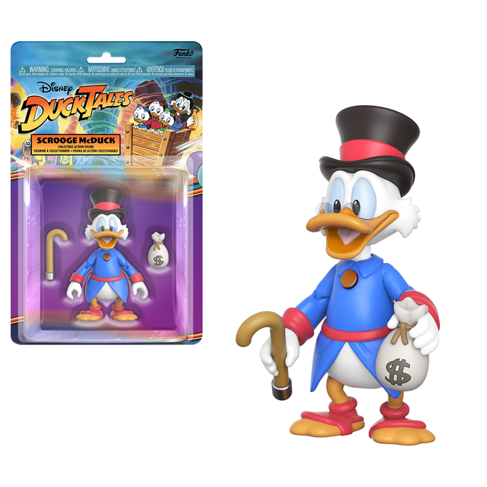 Scrooge McDuck Action Figure