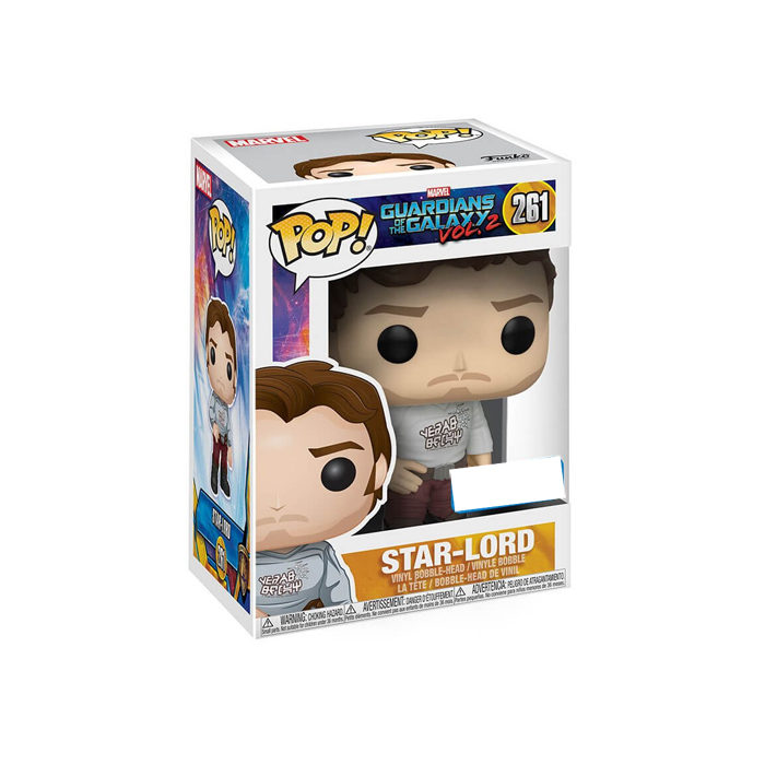 Star-Lord with Gear Shift Shirt Exclusive Funko Pop