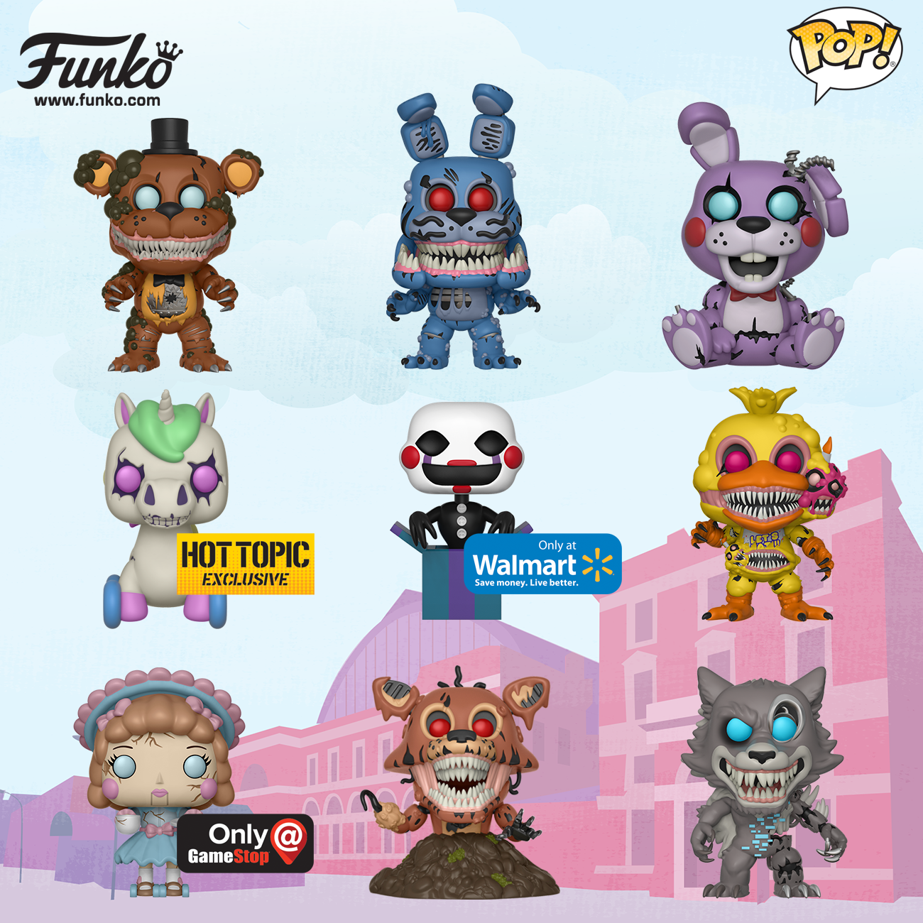 FNAF Pop! Toy Fair