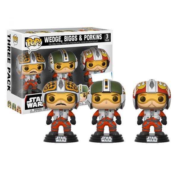 Wedge, Biggs and Porkins 3pack Funko Pop