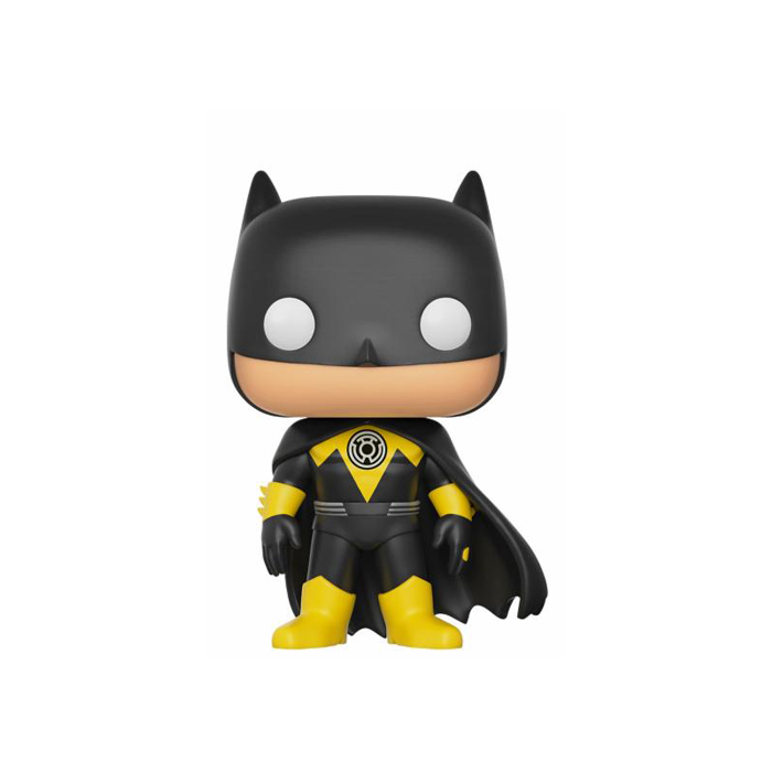 Yellow Lantern Batman Exclusive Funko Pop