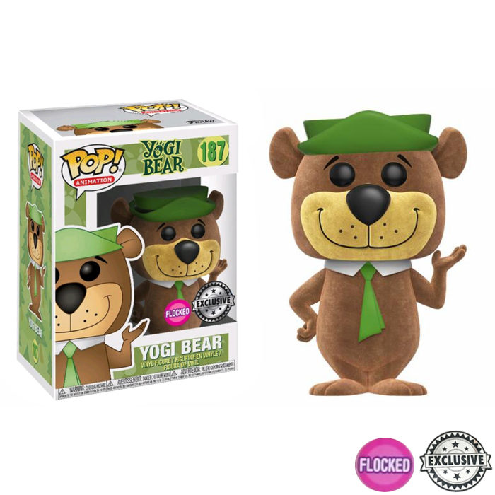 Yogi Bear Flocked Exclusive Funko Pop