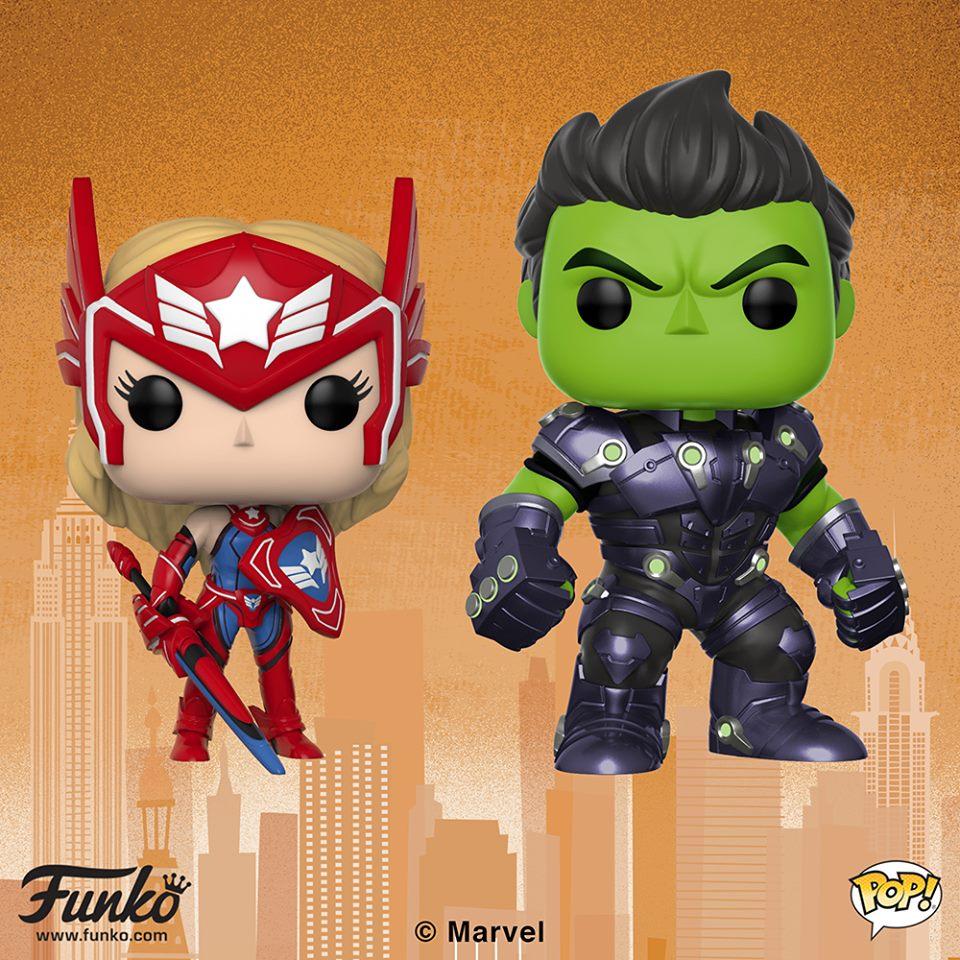 NYTF Marvel Future Fight Pop!