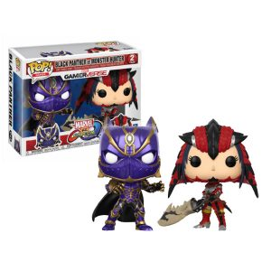 Black Panther VS Monster Hunter Funko Pop 2pack