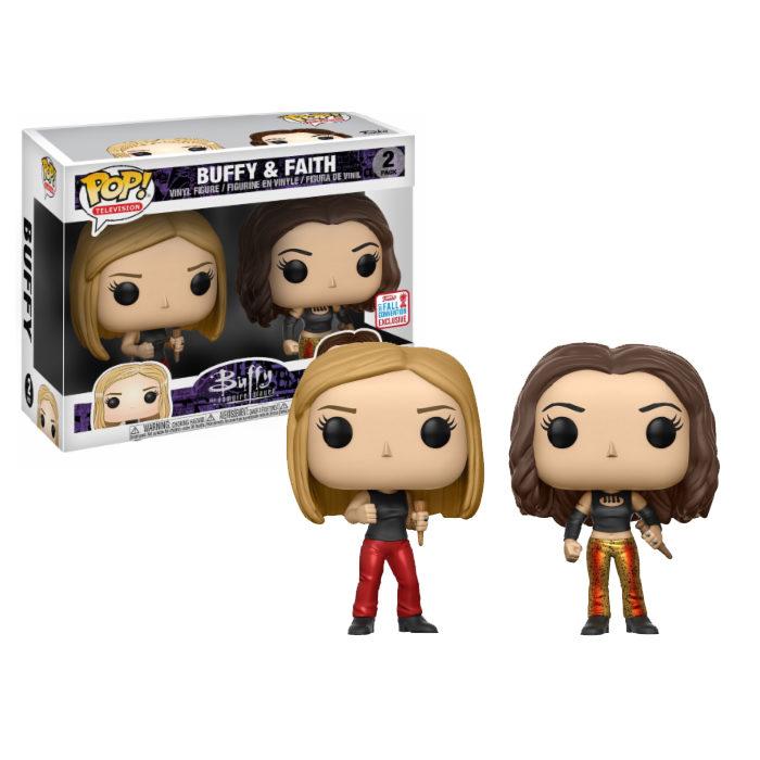 Buffy and Faith NYCC Funko Pop