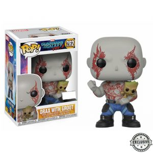Drax with Groot Funko Pop