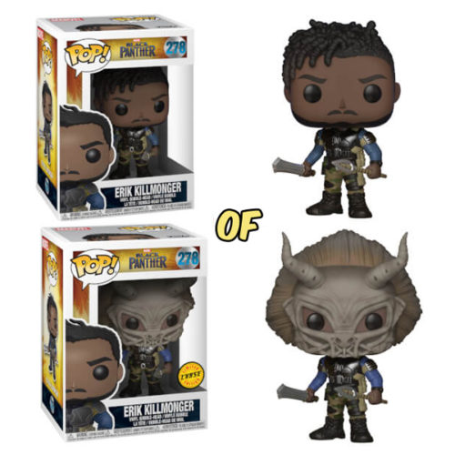 Erik Killmonger Funko Pop