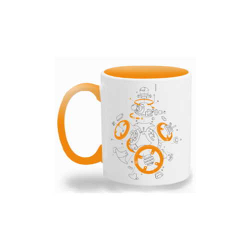Exploded View BB-8 Mug