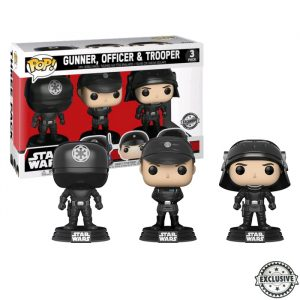 Gunner Officer Trooper Star Wars 3pack Funko Pop