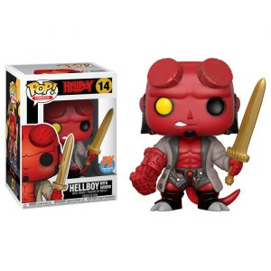 Hellboy with Sword Funko Pop
