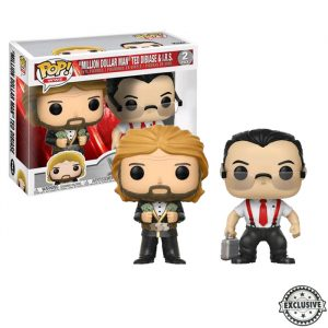 Irs and Milion Dollar Man Funko Pop