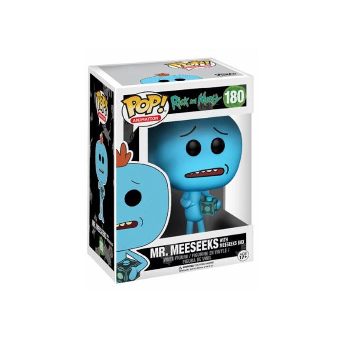 Mr Meeseeks with Box Funko Pop