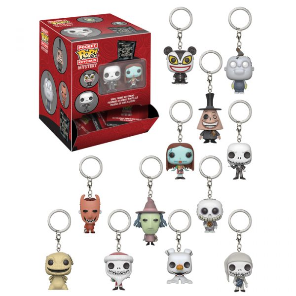 Nightmare Before Christmas Pocket Pop Keychain
